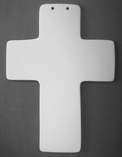 Hand Print Cross-