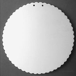 Extra Large Round Ruffle-