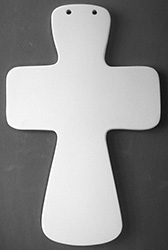 Extra Large Fluted Cross-
