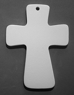 Small Fluted Cross-